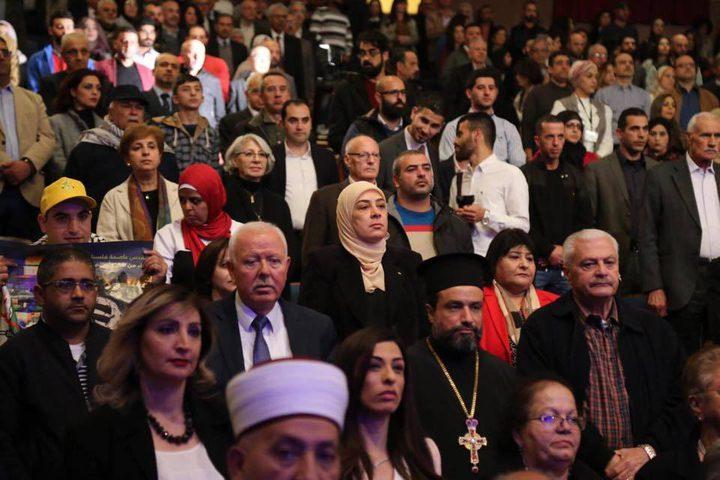 الحفل السنوي لمؤسسة ياسر عرفات لاحياء ذكرى استشهاده الخامس عشر