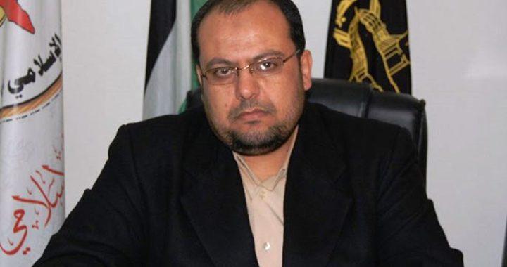 """شهاب ينفي لـ""""النجاح"""" مغادرة وفد من الجهاد الاسلامي إلى القاهرة"""