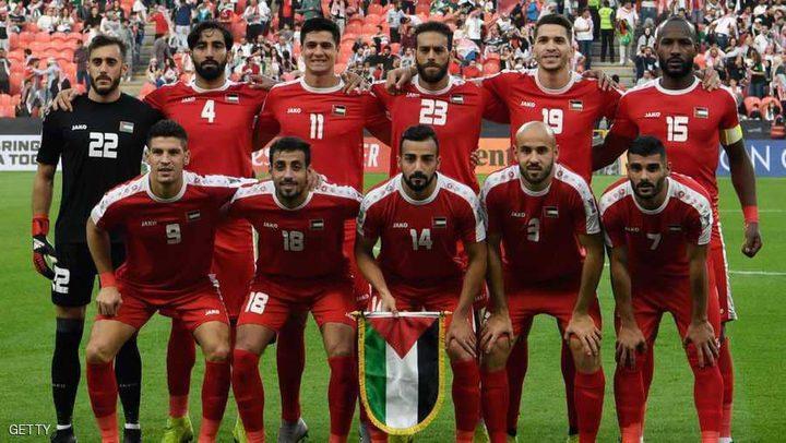 المنتخب الفلسطيني يخوض حصته التدريبية الأولى في المنامة