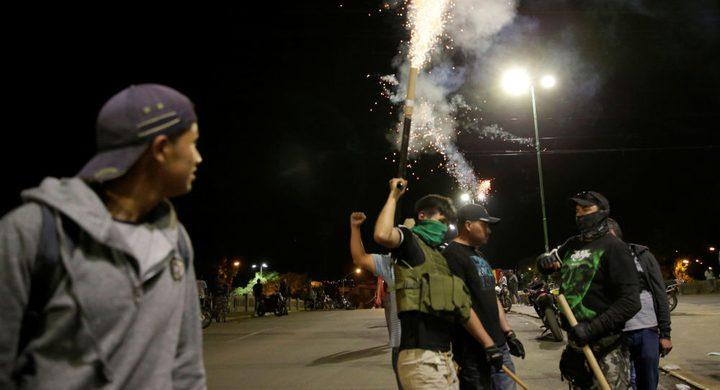 ارتفاع عدد قتلى الاحتجاجات في بوليفيا إلى 7