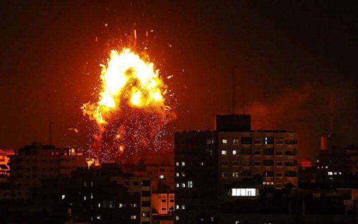الاحتلال يجدد غاراته على قطاع غزة ويستهدف مواقع تابعة للمقاومة