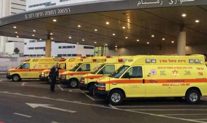 إصابة خطيرة لعامل بمدينة حيفا