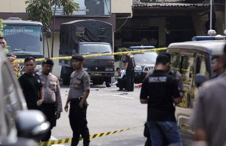 إندونيسيا: مقتل 4 عناصر شرطة بهجوم إنتحاري