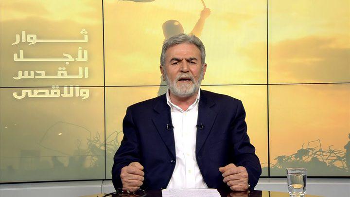 النخالة: حددنا ثلاثة شروط لوقف إطلاق النار وننتظر الرد المصري