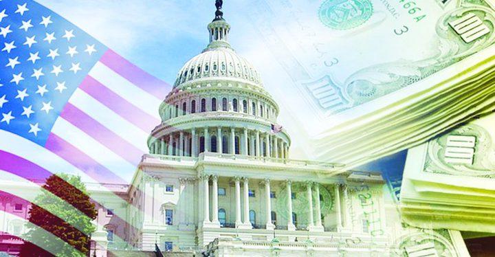 عجز الميزانية الأمريكية يصل لـ 134 مليار دولار