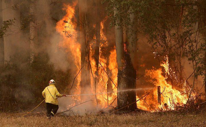 ارتفاع حصيلة قتلى حرائق الغابات في أستراليا