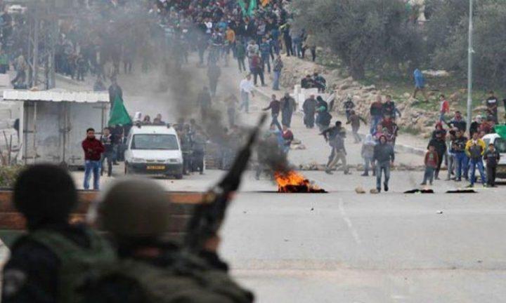 الاحتلال يقمع مسيرة طلابية تنديدا بالعدوان على غزة