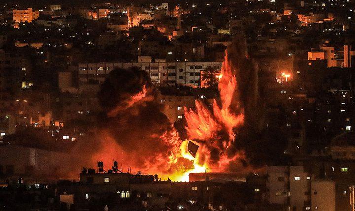 الاحتلال يشن غارات جديدة على قطاع غزة