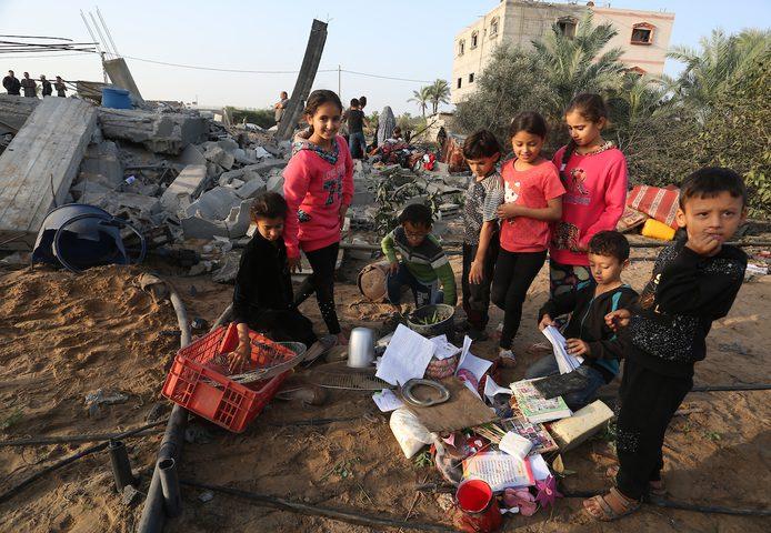 استشهاد 6 طلاب وتضرر 15 مدرسة نتيجة عدوان الاحتلال على غزة