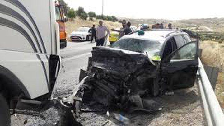 مصرع مواطنين في حادث سير