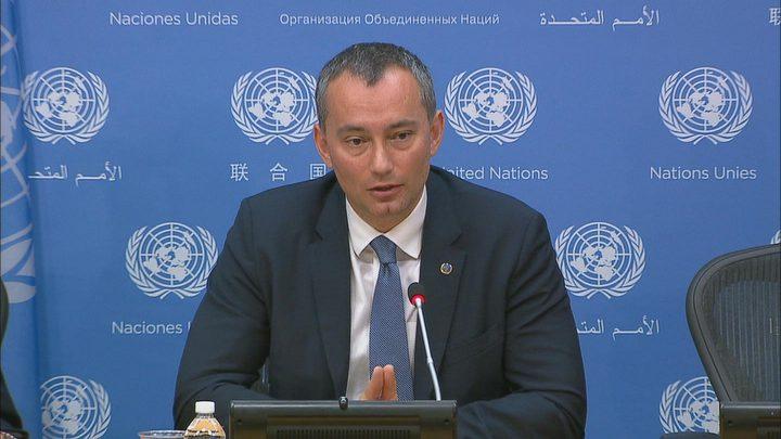 ملادينوف: لا مبرر لمهاجمة المدنيين واستهداف عائلة السواركة