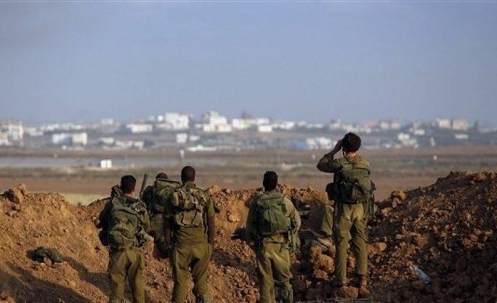 الاحتلال يطلق النار تجاه شبان شرق خانيونس