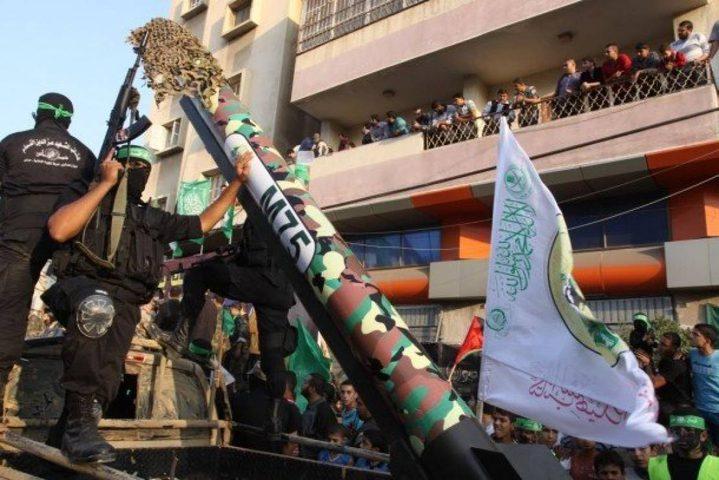 كتائب القسام تنشر فيديو حول الصاروخ الذي حسم حرب 2012 على غزة