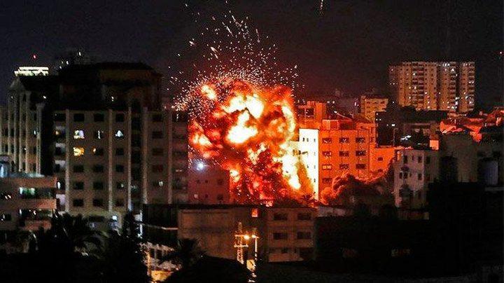 قصف إسرائيلي لمواقع المقاومة شمال القطاع