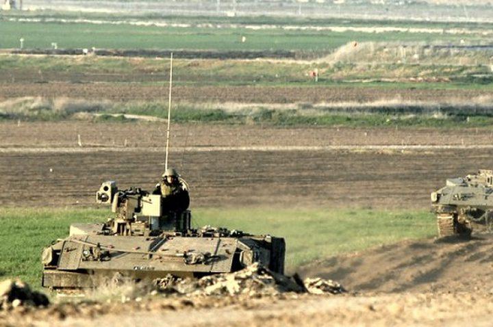 الاحتلال يطلق النار تجاه سيارة صرف صحي جنوب غزة