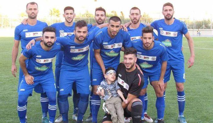 فريق جنين يفوز على سلوان في دوري الدرجة الاولى
