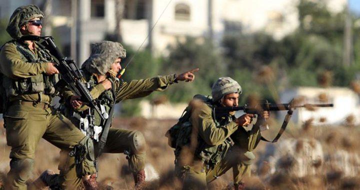 اصابة طفلين برصاص الاحتلال شمال رام الله