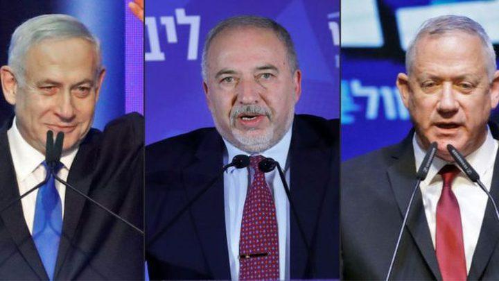 يديعوت: اتفاق أولي بين غانتس وليبرمان لتشكيل حكومة الاحتلال