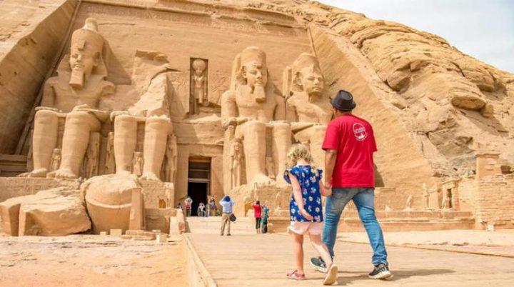 ارتفاع حصيلة إيرادات السياحة في مصر