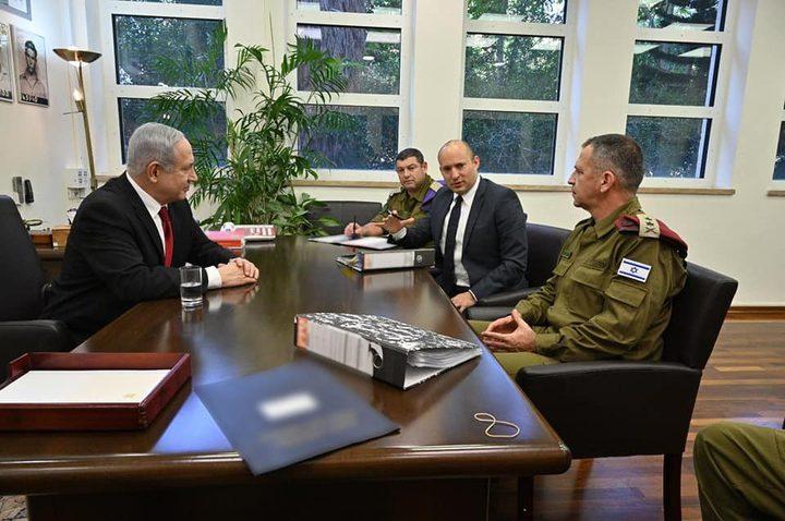 اجتماع طارئ في وزارة حرب الإحتلال بحجة بحث الوضع الأمني