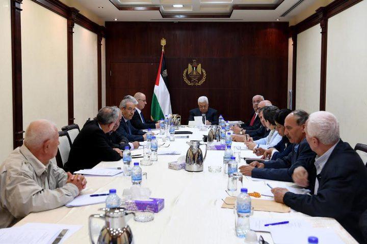 اللجنة التنفيذية: الخطوة القادمة تحرك فلسطيني على الصعيد الدولي