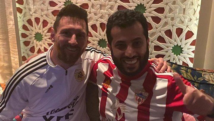 """""""آل الشيخ"""" يروي موقفا حدث مع ميسي"""