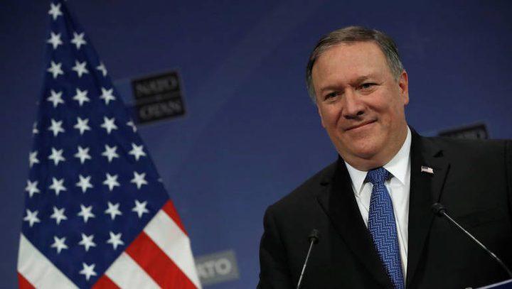 الخارجية: إعلان بومبيو ضوء أميركي أخضر لضم الضفة ووأد حل الدولتين