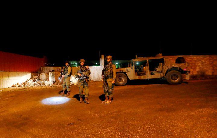 الاحتلال يغلق حاجز الكونتينر شمال شرق بيت لحم بشكل جزئي