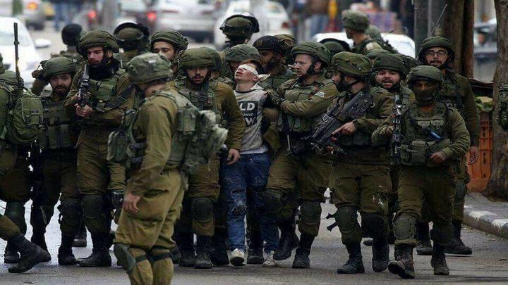 نادي الأسير: الاحتلال اعتقل 745طفلا منذ بداية العام الحالي