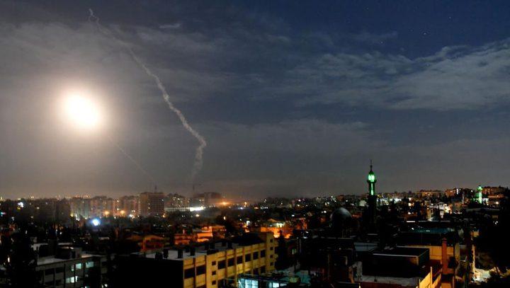 شهيدان وإصابات في غارات اسرائيلية على دمشق