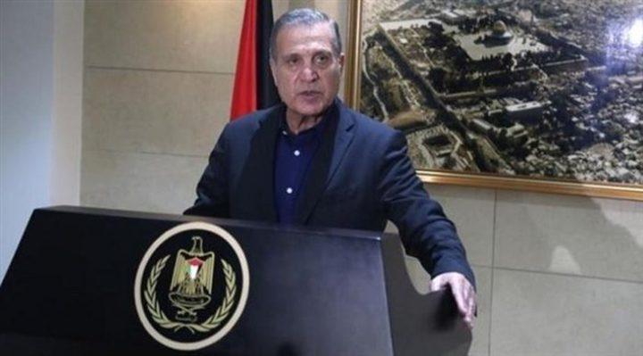 أبو ردينة:الولايات المتحدة ترتكب خطأ تاريخيا بسياستها الاستعمارية