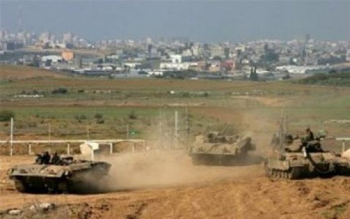 آليات الاحتلال تتوغل شرق رفح
