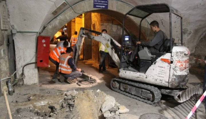 اليونسكو تعرب عن قلقها بشأن حفريات الإحتلال في القدس القديمة