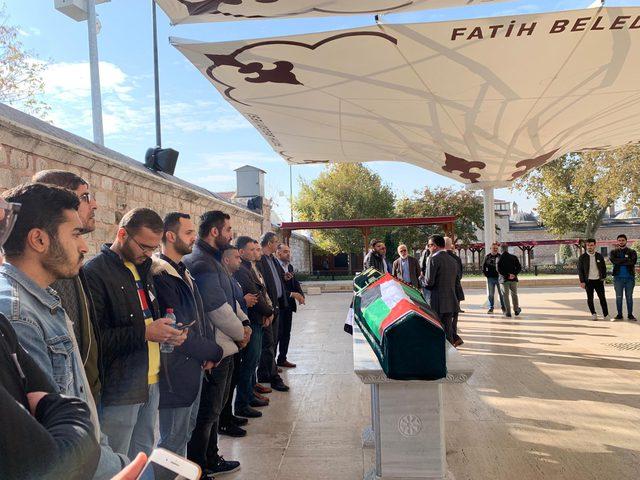 تشييع جثمان الزميل الراحل محمد داوود في اسطنبول
