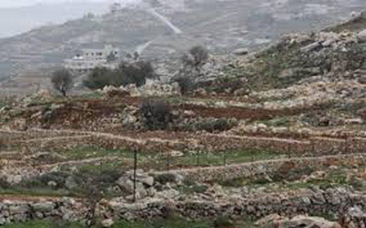 الجدار والاستيطان تستعيد 207 دونمات من اراضي مسحة