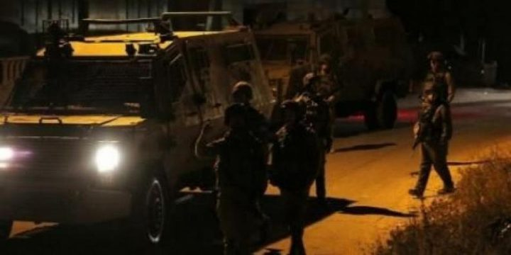 الاحتلال يقتحم مخيم الأمعري بمدينة رام الله