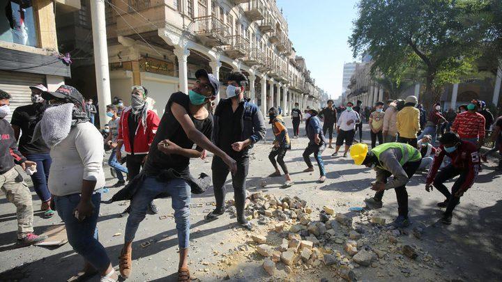 مقتل ثلاثة متظاهرين في بغداد في مواجهات مع قوات الأمن