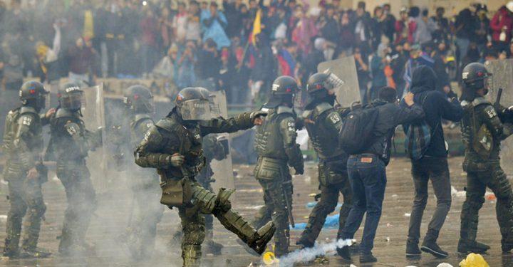 مقتل ثلاثة من رجال الأمن في هجوم على مركز للشرطة في كولومبيا