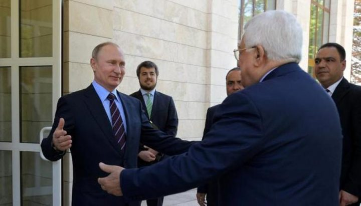 بوتين سيزور فلسطين