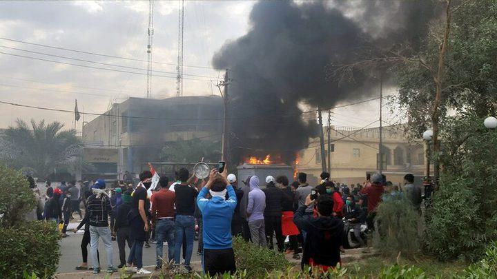 البصرة العراقية تعلن حالة التأهب القصوى