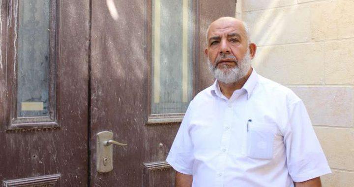 ابعاد الشيخ بكيرات عن الأقصى ثلاثة أشهر