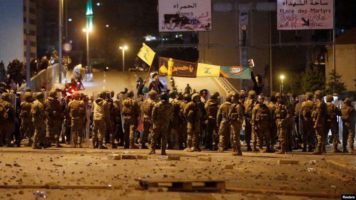 اندلاع الاشتباكات في لبنانبعد هجوم أنصار حزب الله