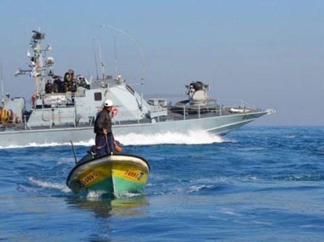 اصابة صياد برصاص الاحتلال قبالة شاطىء شمال غزة