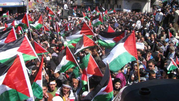 يوم غضب في محافظات الوطن رفضاً للقرارات الامريكية الاسرائيلية غدا