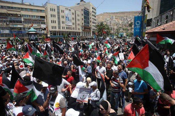 محيسن: غداً بداية لبرنامج نضالي شامل لمواجهة امريكا واسرائيل