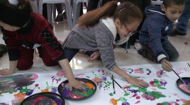 بسمة أمل تنظم يوما ترفيهيا لأطفال جمعية الهلال الاحمر