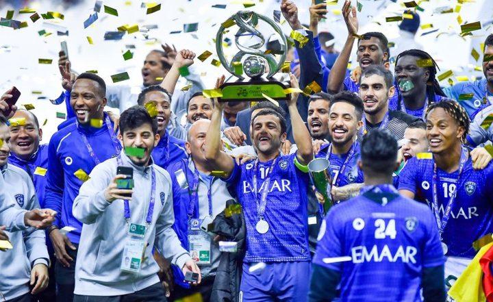 الهلال السعودي يتوج بلقب دوري أبطال آسيا لكرة القدم