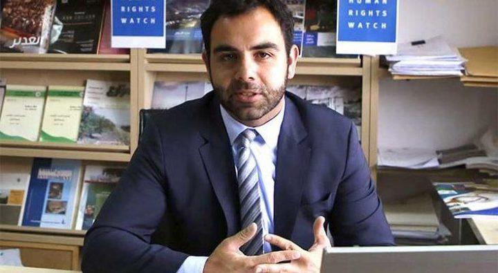 الاحتلال يطرد مدير منظمة حقوق الإنسان الدولية عمر شاكر