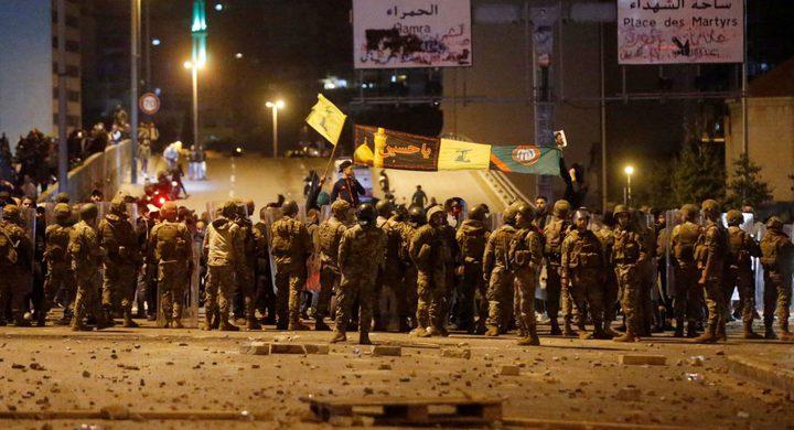 لبنان: اشتباكات وإطلاق نار في ثاني ليلة من العنف