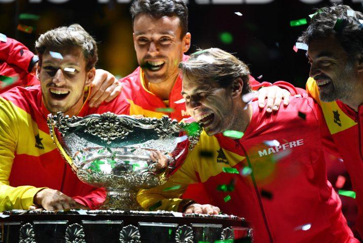 نادال يقود إسبانيا للتتويج بلقبها السادس في كأس ديفيز
